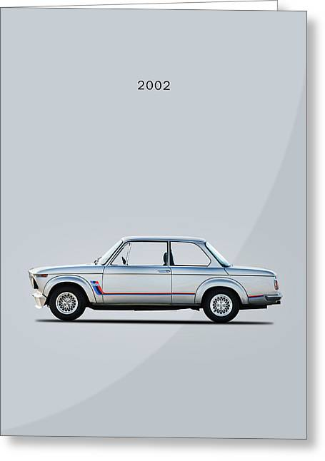 The Classic Bmw 2002 Greeting Card by Mark Rogan