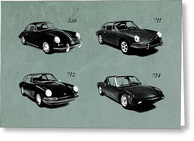 The Classic Porsche Collection Greeting Card