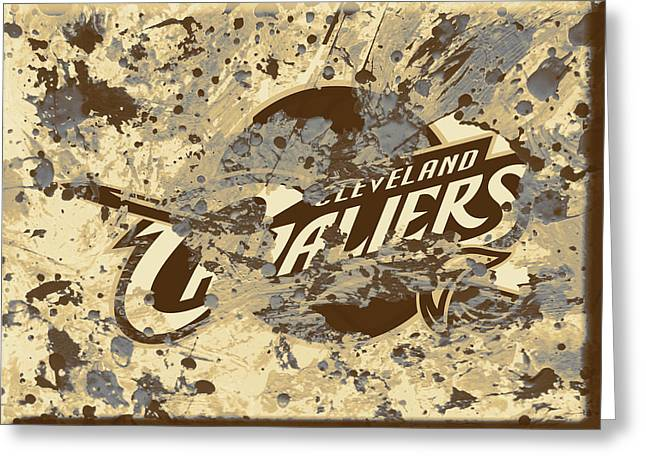 The Cleveland Cavaliers 1b Greeting Card