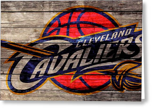 The Cleveland Cavaliers 2w Greeting Card