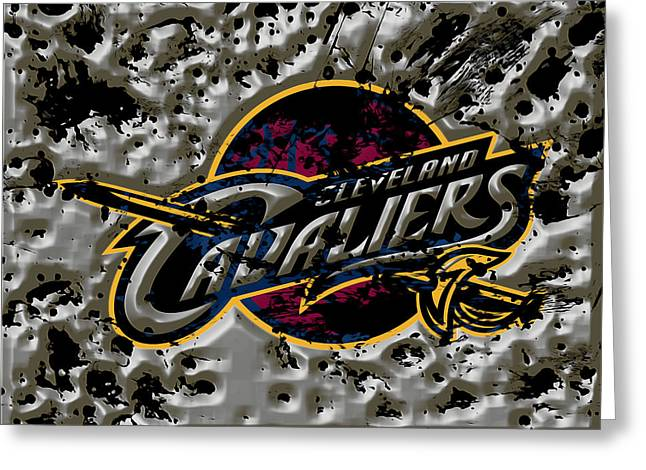 The Cleveland Cavaliers Greeting Card