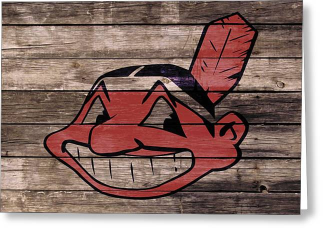 The Cleveland Indians 1w Greeting Card