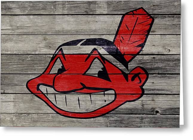 The Cleveland Indians 2w Greeting Card