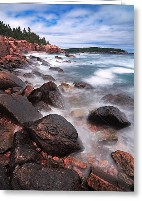 The Cliff   Greeting Card