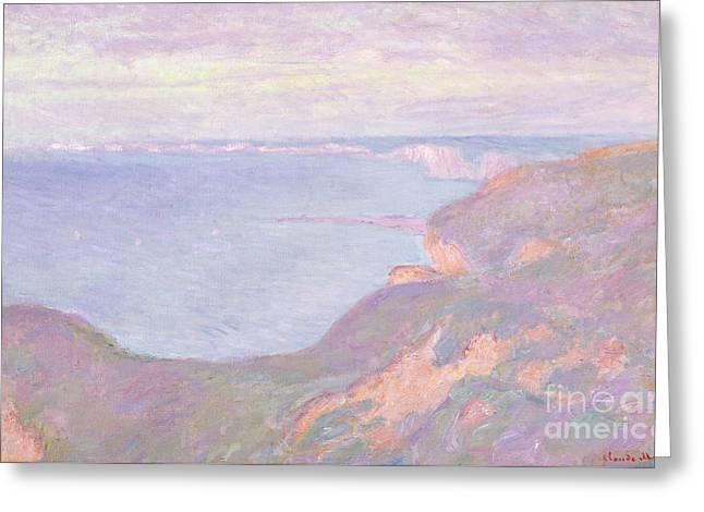 The Cliffs Near Dieppe, 1897  Greeting Card