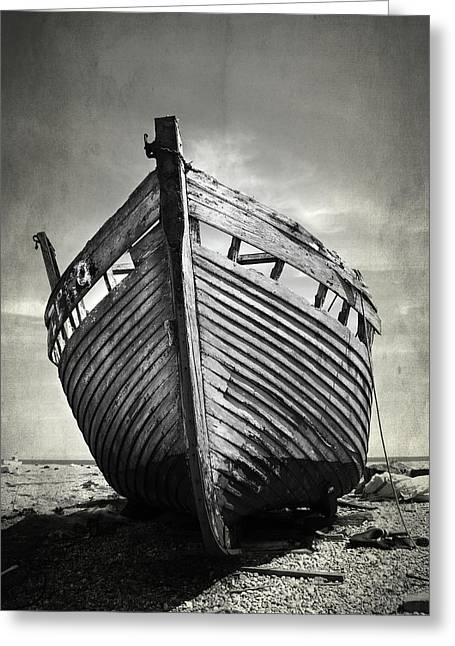 The Clinker Greeting Card by Mark Rogan