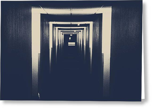 The Closed Doors Greeting Card by Jerry Cordeiro