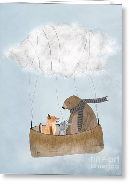 The Cloud Balloon Greeting Card
