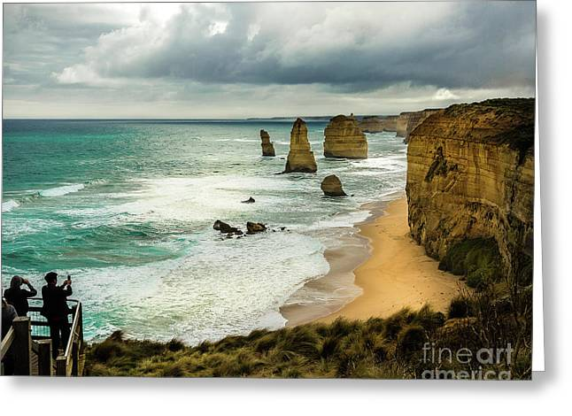 Greeting Card featuring the photograph The Coast by Perry Webster