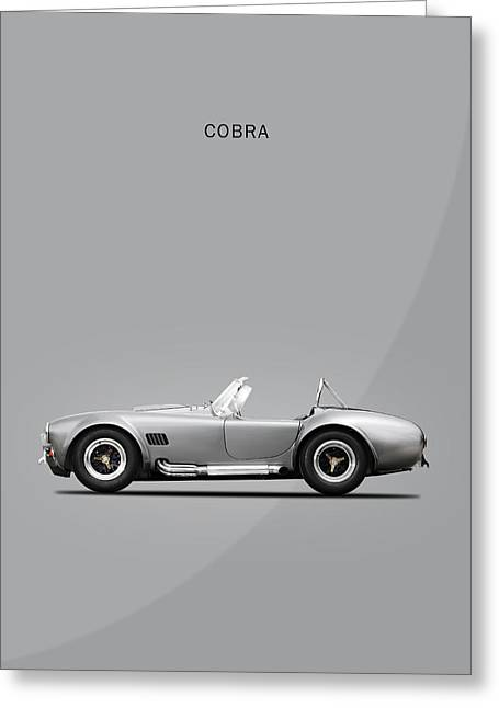 The Cobra Greeting Card by Mark Rogan