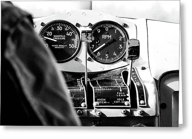 Greeting Card featuring the photograph Ready For Takeoff by Rand
