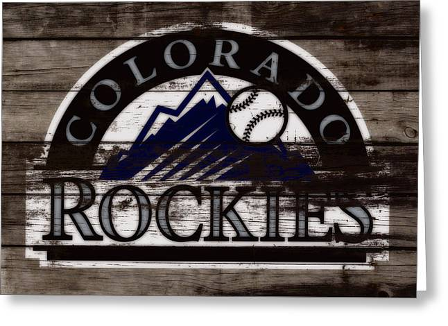 The Colorado Rockies        Greeting Card by Brian Reaves