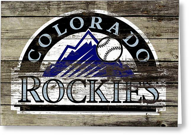 The Colorado Rockies 1a        Greeting Card by Brian Reaves