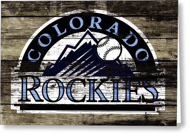 The Colorado Rockies 1c        Greeting Card by Brian Reaves
