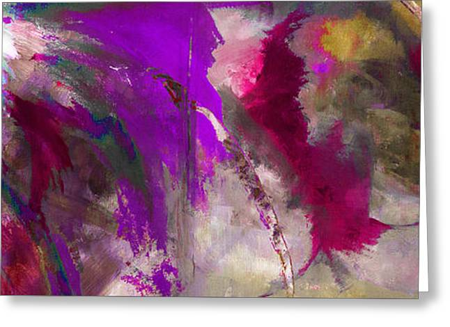 The Colorful Bustier Painting Greeting Card by Lisa Kaiser