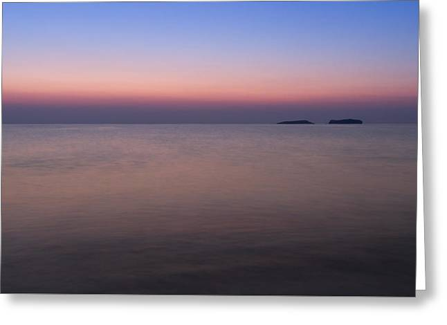 The Colors Of Dawn Greeting Card
