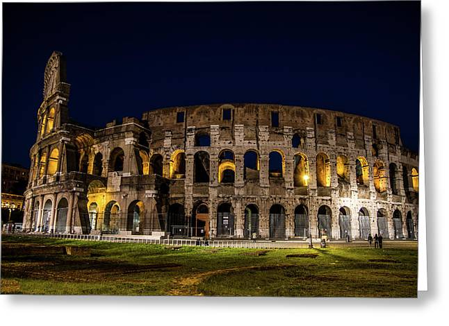 The Colosseum Greeting Card by Simone Amaduzzi Photographer