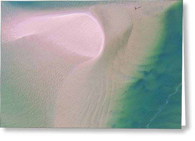 Greeting Card featuring the photograph The Colours And Patterns Of The Noosa River by Keiran Lusk