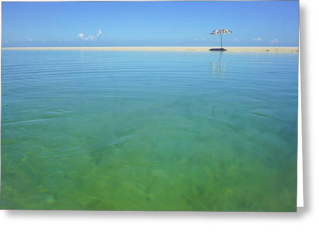 The Colours Of Paradise On A Summer Day Greeting Card