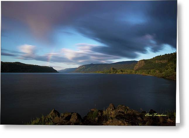 The Columbia River Gorge Signed Greeting Card