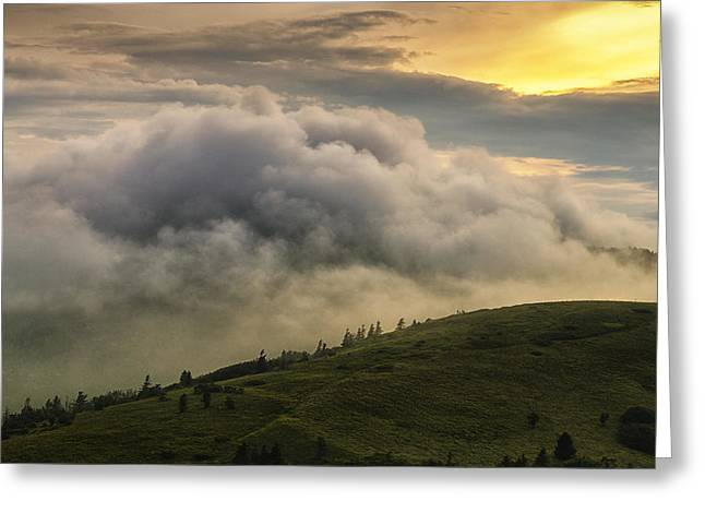 Summer Storm - Roan Mountain Greeting Card