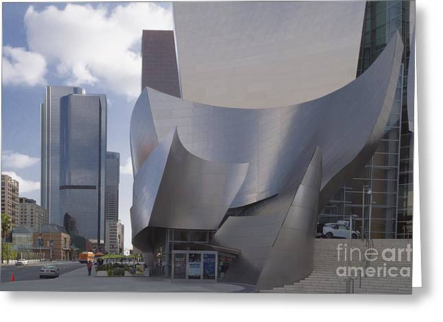 The Concert Hall Greeting Card by Kevin McCall