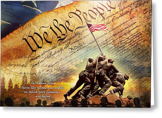 The Constitution Greeting Card