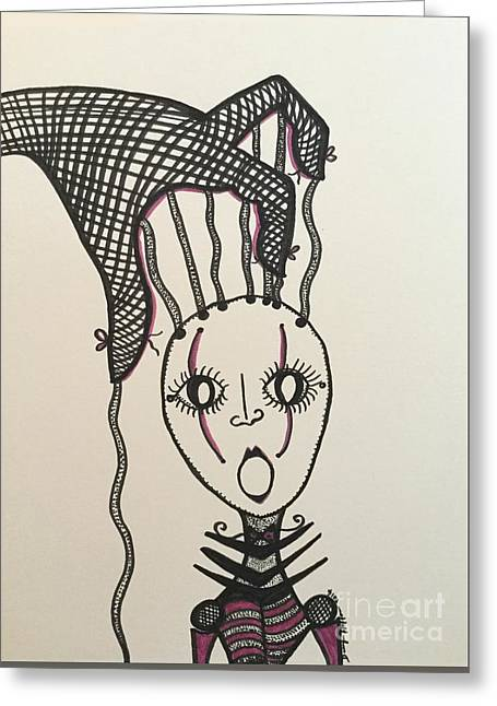 The Control Freak Inside Me, Controlling Me Greeting Card