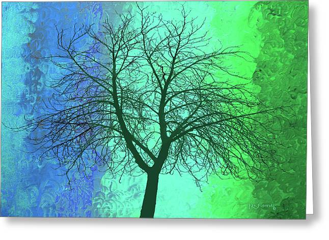 The Cool Tree Greeting Card by Ken Figurski
