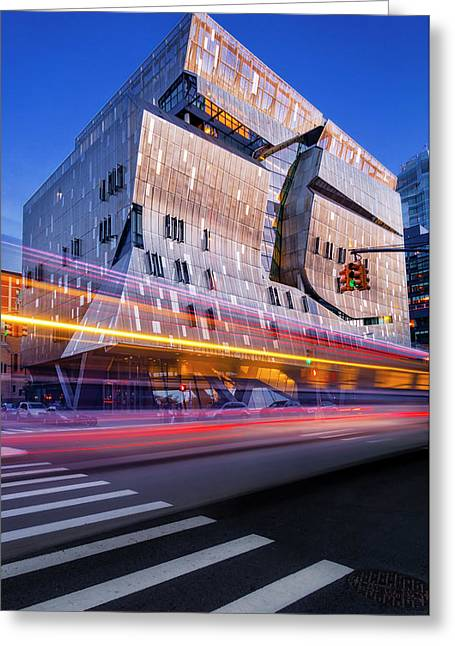 Greeting Card featuring the photograph The Cooper Union Nyc by Susan Candelario