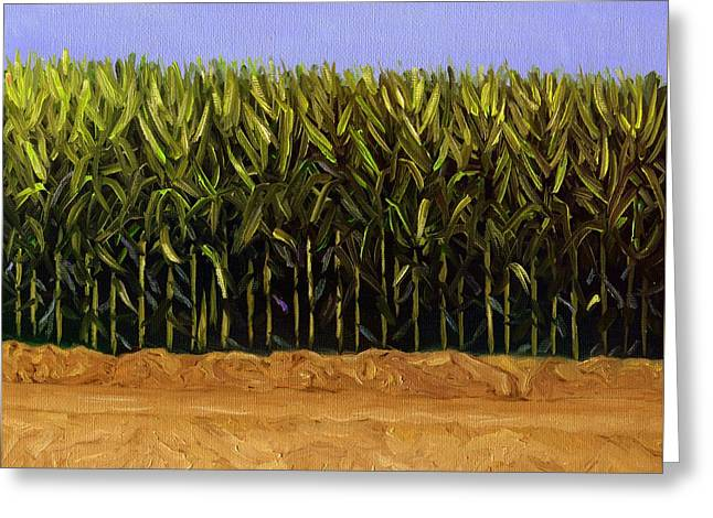 The Cornfield Greeting Card by Karyn Robinson