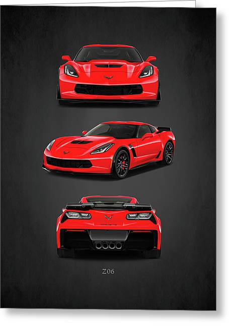 The Corvette Z06 Greeting Card