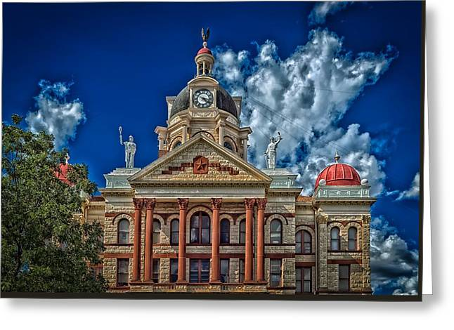 The Coryell County Courthouse Greeting Card