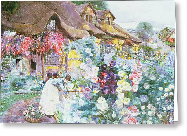 The Cottage Garden Greeting Card