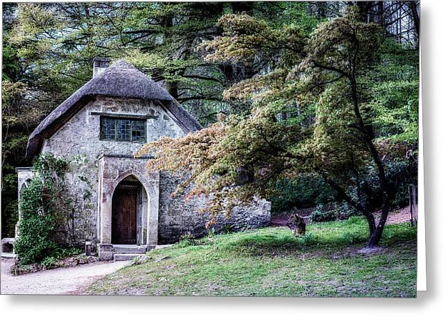 The Cottage In The Forest Greeting Card