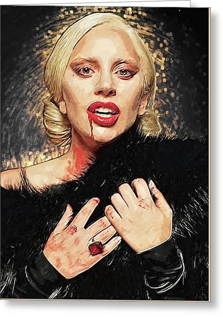The Countess - American Horror Story Greeting Card