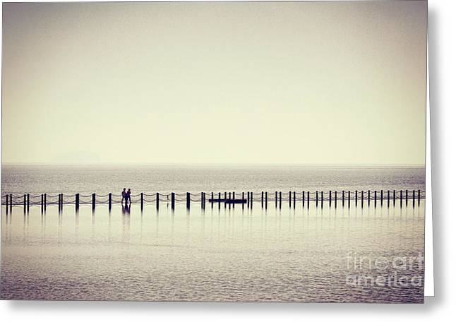 Greeting Card featuring the photograph The Crossing by Colin and Linda McKie
