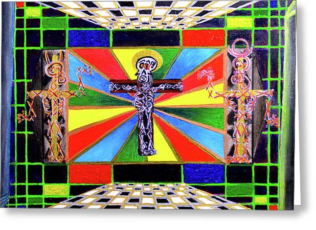 The Crucifffictiooon - Paradisi Gloooria Greeting Card
