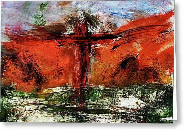 The Crucifixion #1 Greeting Card