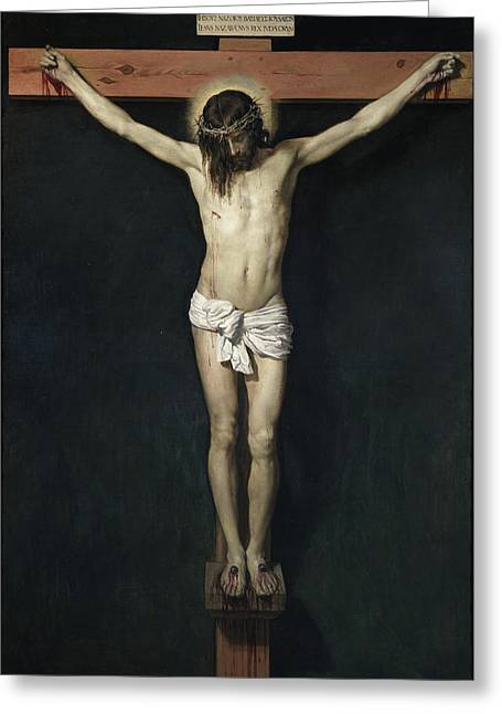 The Crucified Christ Greeting Card