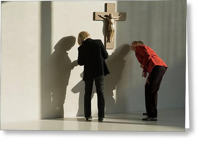 The Crucifix Greeting Card