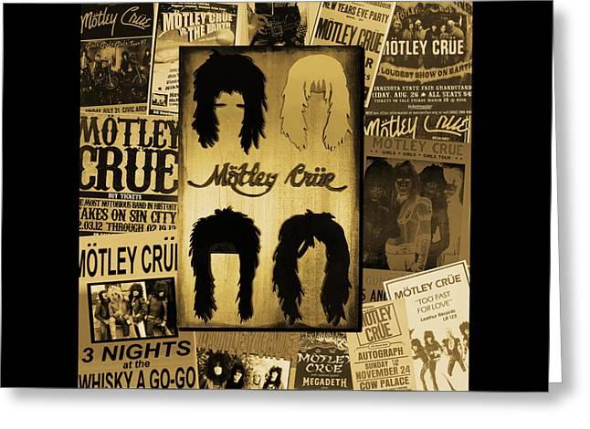 Motley Crue Greeting Card