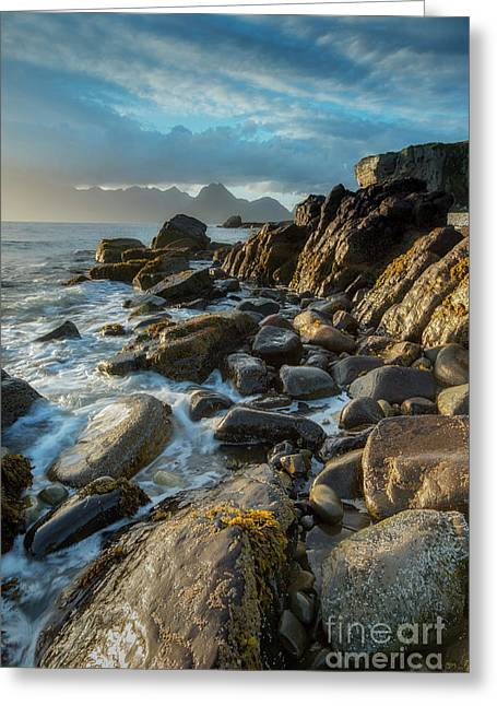The Cuillin From Elgol Greeting Card