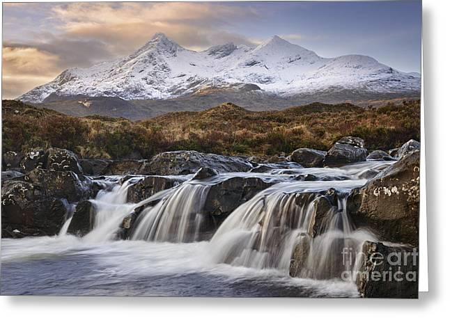 The Cuillins From Sligachan Greeting Card