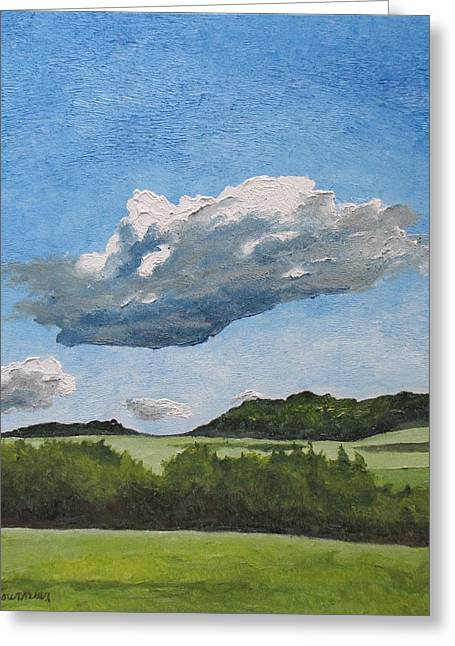 The Cumulus  Greeting Card by Francois Fournier