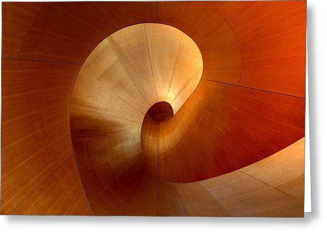 The Curve Greeting Card by Roland Shainidze