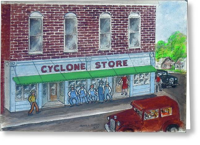The Cyclone Store 1948 Greeting Card