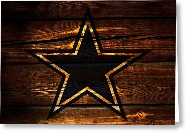 The Dallas Cowboys 3b Greeting Card