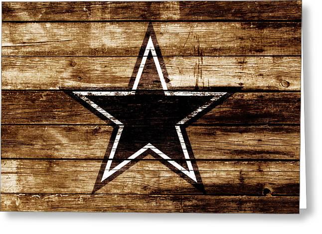 The Dallas Cowboys 4b                              Greeting Card