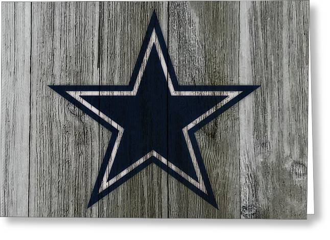 The Dallas Cowboys C1                              Greeting Card by Brian Reaves